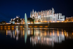 La Seu By Night (Pam & Ben) Tags: palma mallorca cathedral laseu sony nex6 16mm f28