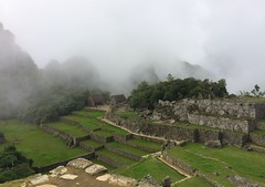 Fast Moving Clouds  & changing scenes - IMG_3795 (Toby Garden) Tags: machu picchu ruins peru mysterious cloudy day