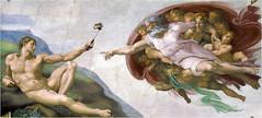 Michelangelo Adam s Selfie 2 (Mister-Mastro) Tags: michelangelo heiliger geist adam gott kunst selfie handy smart phone mobile photoshop