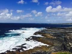(Ruby L9) Tags: water seaside ocean shore coast landscape wave rock cliffs