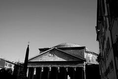 Pantheon - Rome (Giulio Buonomini) Tags: rome roma italy pantheon biancoenero nero bw architettura architecture ancient roman romani italia antichit monumenti monument