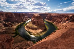 the bend (Eddy Alvarez) Tags: arizona desert nature landscape horseshoe bend river west national parks america united states navajo rocks cliffs sky sun day travel