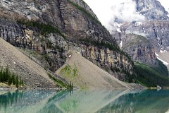 Glacial Action (Patricia Henschen) Tags: canada nationalpark banff alberta morainelake glacial lake reflections rockies northern rockymountains mountains reflection glacier