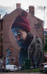 Street mural - High Street, Glasgow (Devilishmess) Tags: glasgow scotland unitedkingdom gb