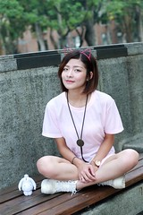 DP1U8647 (c0466art) Tags: young little sweet lovely cute girl taiwan pure pretty face action pose funny elegant charming gorgeous outdoor portrait light canon 1dx c0466art