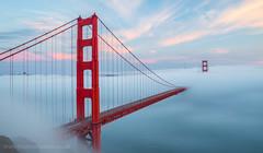 San Fran (Thomas Heaton) Tags: green thomasheaton landscapephotography sanfrancisco fog mist goldengatebridge america fret harbour