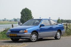 My 1991 Hyundai Scoupe 1.5i GTX Automatic (rvandermaar) Tags: 1991 hyundai scoupe 15i gtx automatic hyundaiscoupe zl33bk sidecode4