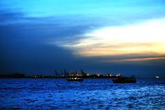 DSC_0106 Another color of Sunset (tsuping.liu) Tags: outdoor ocean blight sky sunset serene sea seaside skyline dusk water landscape lighting light brue cloud c