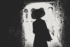 Venetian silhouette (__Thomas Tassy__) Tags: venice venezia venetian silhouette black white blanc noir italia italy italie venetie canon eos passion award