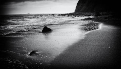 Incoming Tides (J*Phillips) Tags: backgrounds summer beach blackandwhite danapoint landscape california ocean rocks sea