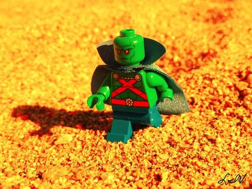 Martian Manhunter on Mars
