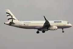 SX-DGZ | Airbus A320-232/W | Aegean Airlines (cv880m) Tags: athens greece ath lgav eleftherios venizelos aia sxdgz airbus a320 320200 320232 winglet sharklet aegean aegeanairlines