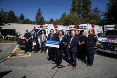 Improving access to ambulance services in Maple Ridge (BC Gov Photos) Tags: ambulance mapleridge pittmeadows paramedics bcemergencyhealthservices bcehs health