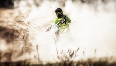 Out of the dust #137 Caro Fitus ( - Ralf) Tags: carolin fitus 137 mx motocross motorsport motorrad dust staub