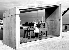 Monochrome Photography Outdoors Person Building Exterior Horizontal Full Length One Woman Only Only Women Cityscape City Gate Arsenale Di Venezia Geometric Shape Urban Landsape Blackandwhitephotography Biennale2016 Architecture Water Concrete Buildings Bl (claudio_fornaciari) Tags: monochromephotography outdoors person buildingexterior horizontal fulllength onewomanonly onlywomen cityscape citygate arsenaledivenezia geometricshape urbanlandsape blackandwhitephotography biennale2016 architecture water concretebuildings blackandwhite