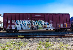 (o texano) Tags: houston texas graffiti trains freights bench benching hindue gtb