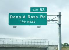Donald Ross Rd (peachy92) Tags: 2016 fujifilmfinepixxp200 roadgeek roadsign roadsigns fl florida us usa unitedstates unitedstatesofamerica i95 palmbeach palmbeachcounty palmbeachcountyflorida palmbeachcountyfl 365 366 3652016 3662016 365days 366days 365days2016 366days2016 project365 project366 project3652016 project3662016 290 290365 290366 vacation vacation2016