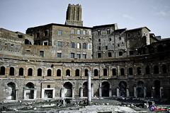 Iconic Rome Buildings (Tony Hodson Photography) Tags: rome italy parthenon colosseum history roman ancient forum romanum