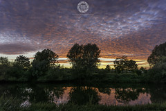 Worcester Sunset (MAC-Photography.co.uk) Tags: sunset worcester river severn trees reflections clouds worcestershire landscape riversevern diglis sony a6000