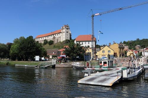 Wettin, Unterburg