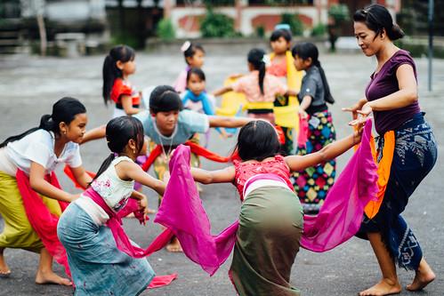 Legong Dance Class, Bali Indonesia