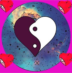 #yinyang #heartshapedyinyang #popart #pop #art #artistic #artsy #beautiful #creative #creativity #daring #different #digitalart #love #hearts #nebulas #nebulae #space #astronomy #chinesemythology #chinesemedicine (muchlove2016) Tags: yinyang heartshapedyinyang popart pop art artistic artsy beautiful creative creativity daring different digitalart love hearts nebulas nebulae space astronomy chinesemythology chinesemedicine