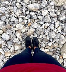 Pause (chrysalismo) Tags: iphone iphone6 myself adidas feet beach spain espaa eivissa ibiza