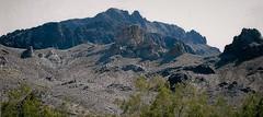Life From Arizona (Shot by Newman) Tags: rockformations mountains landscape nature remotearea mojavedesert arizona shotbynewman southwest plantlife stones 35mm fuji400 fujifilm daylight