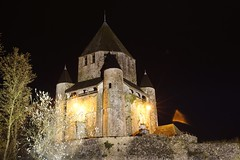Tour Csar (cyrille godard) Tags: tour donjon tower csar provins tourcsar nuit night noche france iledefrance seineetmarne sony a77 dungeon medivale age moyenge