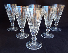 Waterford Crystal Champagne Flutes Glasses ~ Tramore (Donna's Collectables) Tags: waterford crystal champagne flutes glasses tramore thanksgiving christmas