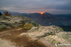 The small plateau in Rhodope Mountains- Belintash (Andrey Andreev) Tags: belintash  bulgaria rhodope mountains sunset sundown     rocks plateau moutains