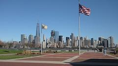 The New York and The American (kyosukesato) Tags: libertystatepark leicaxtype113 america new york