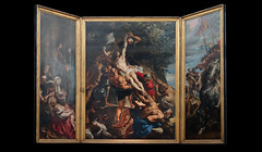 Rubens, Elevation triptych against black
