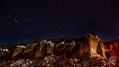 Starry Night in New Mexico (Photography by Rafay) Tags: new red sky southwest rock night rural way stars mexico united astrophotography states laguna milky acoma grants cibola