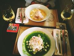 On se gate pour notre dernier repas au resto a lima #meilleursceviche
