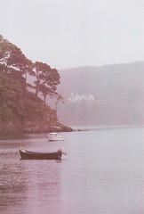 Anchored (theoccipitallobe) Tags: uk skye film analog photography scotland boat nikon wanderlust analogue 800 portree fa c41 filmisnotdead cinestill buyfilmnotmegapixels theoccipitallobe