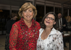 Board members Mary Lou Labows and Cindy Weinrich