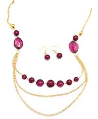 5th Avenue Gold Necklace P2010-2