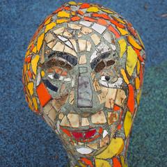 Dragon Park // Nashville // New Years 2015 (Tugboat Printshop) Tags: park public dragon nashville tennessee mosaic scupture