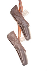 Ballet shoes (Schnapps2012) Tags: pink ballet white art classic closeup studio point foot shoe dance ballerina shoes toe background traditional performance dancer whitebackground footwear hanging classical ribbon pointe copyspace elegant satin isolated silky pointeshoes danceshoes toeshoes thearts enpointe balletshoe isolatedonwhite danceequipment