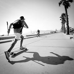 Venice Beach. (PeeterTomson) Tags: life california travel venice friends summer beach los angeles good explore enjoy skateboard fujifilm 12mm xa1 rokinon