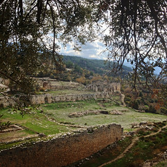Walls of Tlos (VillaRhapsody) Tags: site roman historical fethiye lykia lycian tlos preroman ansient