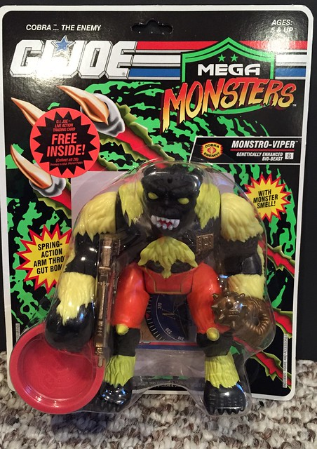 GI JOE - Mega Monsters - Monstro-Viper