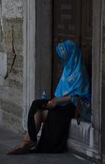 Woman (rowanholligan) Tags: summer turkey nikon women islam istanbul niqab d5100