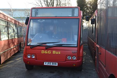 D&G Bus 137 YJ55BHN (Will Swain) Tags: uk travel england west bus buses yard cheshire britain garage south north transport january crewe depot former 25th stagecoach dg taunton 137 2015 47590 yj55bhn
