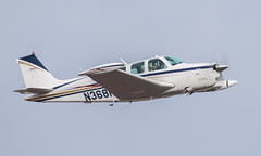 Beech A36 Bonanza N368HP (ChrisK48) Tags: airplane aircraft 1981 beechcraft 36 bonanza dvt phoenixaz kdvt beecha36 phoenixdeervalleyairport n368hp