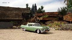 1957 Cadillac Eldorado Seville Hardtop (JCarnutz) Tags: seville cadillac eldorado 1957 diecast 124scale danburymint