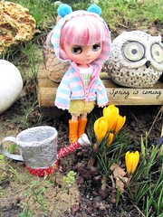 Middie Blythe Yellow Marshmallow
