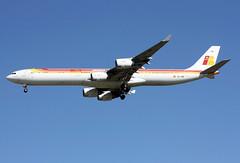 EC-IOB (JBoulin94) Tags: madrid john airport spain international airbus mad iberia barajas a340600 lemd boulin eciob