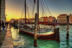 Venice Sailboat (BellaMontepulciano.com) Tags: venice sunset sailboat venezia singleimagehdr nikond4 jayrogers bellamontepulciano